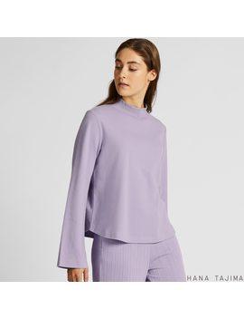 Women Soft Touch Long Sleeve T Shirt (Hana Tajima) by Uniqlo