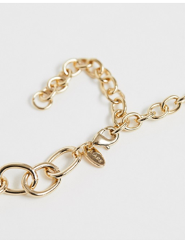 Liars &Amp; Lovers Exclusive Gold Chain Necklace With Pearl Detail by Liars & Lovers