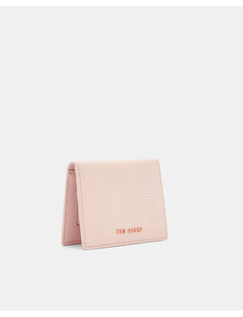 Textured Leather Oyster Card Holder by Ted Baker