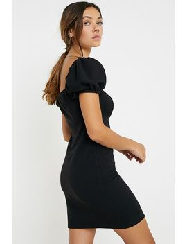 Narrated Square Neck Mini Dress by Narrated