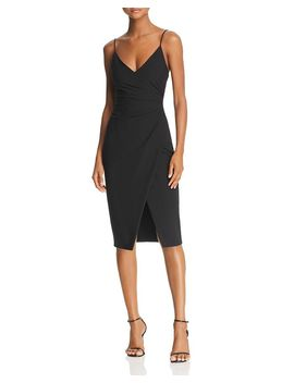Bowery Ruched Dress   100% Exclusive by Black Halo