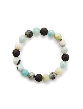 Amazonite Essential Oil Diffuser Bracelet by Uncommon Goods