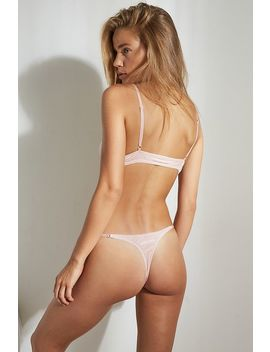 Out From Under Lily Velvet Thong by Out From Under