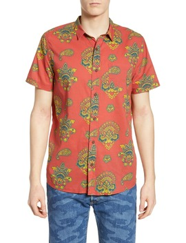 Magnolia Short Sleeve Button Up Shirt by Banks Journal