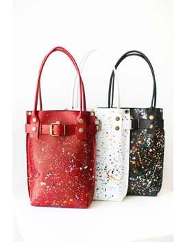 Leather Handbag, Leather Purse, Leather Shoulder Bag, Red Bag, Leather Bag Women by Etsy