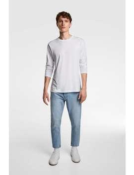 Vintage Slim Fit Jeans Jeansman by Zara
