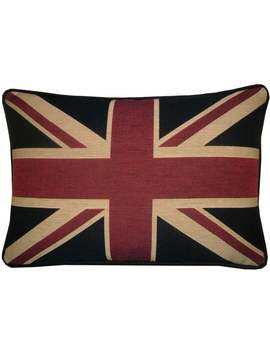 Traditional Union Jack British Flag Tapestry Cushion Pillow Cover by Etsy