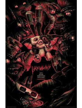 Gremlins Matt Ryan Tobin Limited Edition Print Sold Out Rare #33/275 Mondo New by Ebay Seller