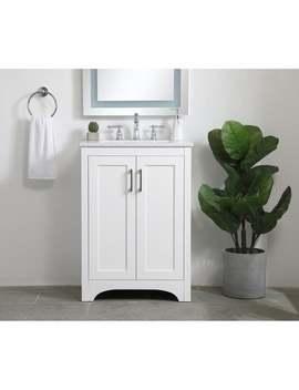 24 Inch Single Bathroom Vanity by Indigo Home