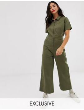 Urban Bliss Wide Leg Utility Jumpsuit by Urban Bliss