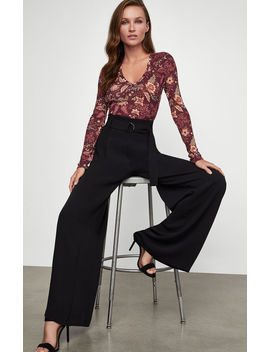 Wide Leg Satin Pant by Bcbgmaxazria