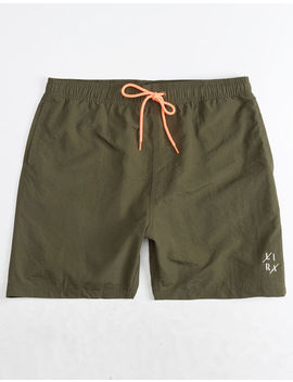 Lira Court Green Mens Volley Shorts by Lira