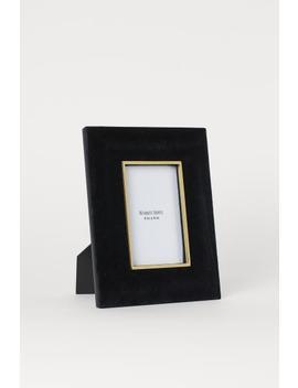 Rahmen Aus Samt by H&M