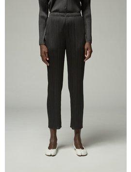 Long Basics Pant by Pleats Please Issey Miyake
