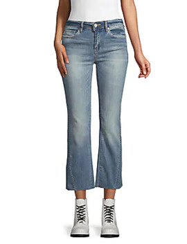 Cropped Flare Jeans by Blank Nyc