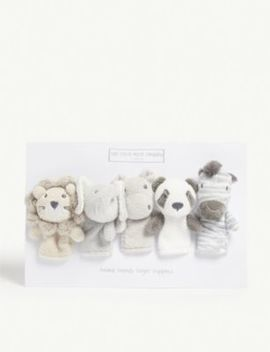 Animal Finger Puppets by The Little White Company