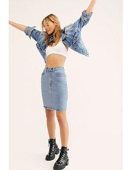 Levi's Core Denim Skirt by Levi's