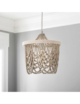 Draped Bead Chandelier by P Bteen