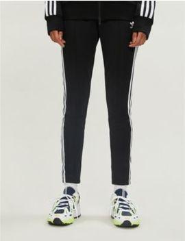Trefoil Stretch Jersey Jogging Bottoms by Adidas Originals