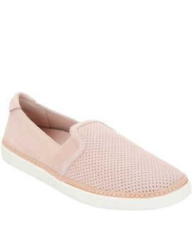 Vionic Perforated Suede Slip Ons   Malina by Vionic®