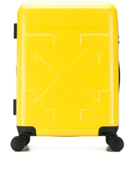 Arrow And Quote Luggage by Off White