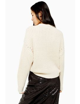 Recycled Crew Neck Jumper by Topshop