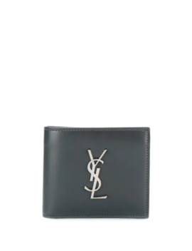 Monogram Motif Bi Fold Wallet by Saint Laurent