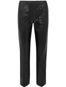 Dino Leather Track Pants by Joseph