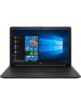 """17.3"""" Laptop   Intel Core I5   8 Gb Memory   256 Gb Solid State Drive   Jet Black, Maglia Pattern by Hp"""