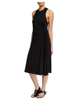 Luca Crewneck Sleeveless Lace Up Dress by Rag & Bone