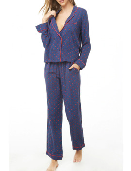 Floral Print Pyjama Set by Forever 21