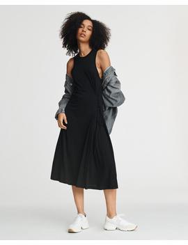 Rag & Bone Luca Lace Up Dress   Black by Garmentory