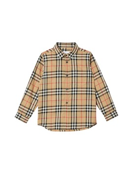 Fredrick Check Flannel Shirt by Burberry