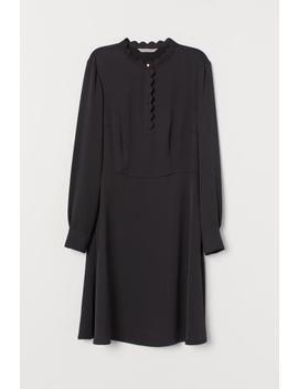Scalloped Edge Dress by H&M