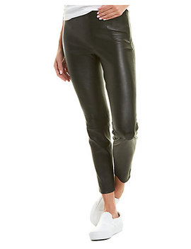 Vince Leather Crop Legging by Vince