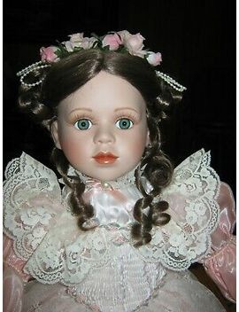 """Court Of Dolls """"Jeri"""" Porcelain Doll    Certificate Of Authenticity #298/2500 by Paradise Galleries"""