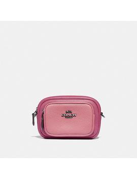 Double Zip Belt Bag In Colorblock by Coach