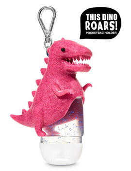 Roaring Pink Dinosaur   Pocket Bac Holder    by Bath & Body Works