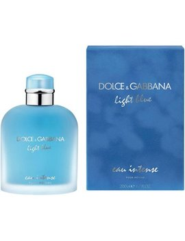 Dolce & Gabbana Lbimes67 Light Blue Eau Intense Edp Spray For Men   6.7 Oz by Dolce & Gabbana