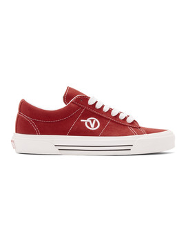 Red Anaheim Factory Sid Dx Sneakers by Vans
