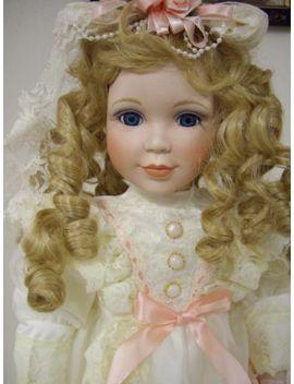 """1st Impressions """"Estelle"""" 23"""" Inch Porcelain Doll by Ebay Seller"""