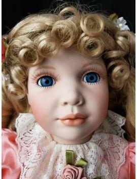 "Porcelain Doll ""Madge"" Artist William Tung Vintage 25"" by Ebay Seller"