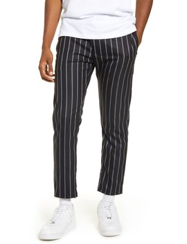 Whyatt Stripe Crop Pants by Topman
