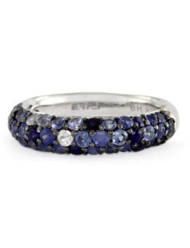 Effy Final Call 925 Sterling Silver Sapphire Ring (Size 7) by Effy