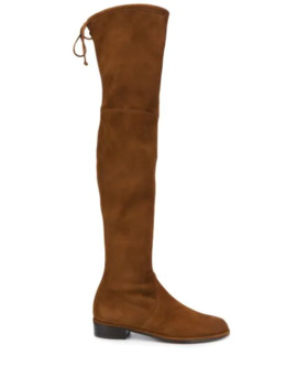 Lowland Knee Boots by Stuart Weitzman