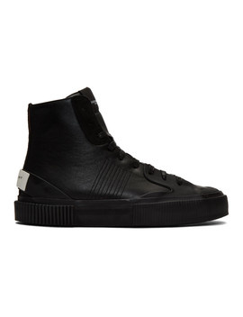 Black High Tennis Light Sneakers by Givenchy