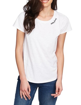 Extra Fancy Embroidered Tee by 1.State