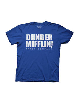 Mens The Office Dunder Mifflin Graphic T Shirt by Novelty T Shirts