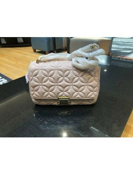 Nwt Michael Kors Sloan Quilted Floral Large Chain Shoulder Bag /Soft Pink by Michael Kors
