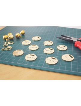 Classic Gold Id Pet Tag by Etsy